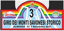 logo rally giro dei monti savonesi storico